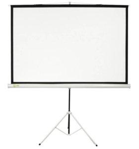 Экран для проектора на штативе  244x183