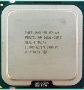 Intel e2160 775 сокет ,2 ядра
