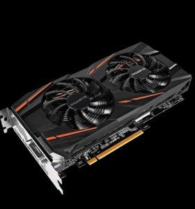 Видеокарта Gigabyte Radeon 570 8Gb mining
