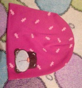 Новая шапка для девочки
