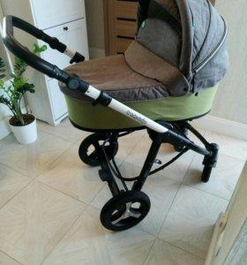 коляска 2 в 1 Baby Design Husky