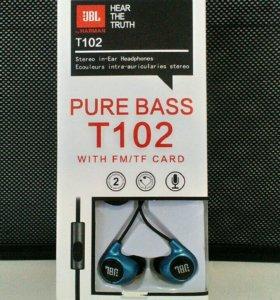 Наушники JBL Pure Bass