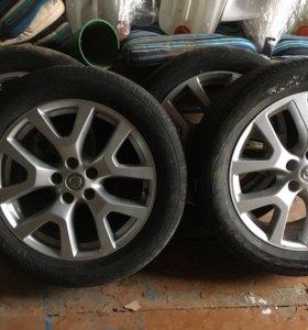 Оригинальные литые диски Nissan X-Trail R18-7j