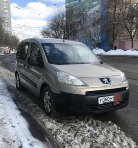 Peugeot Partner, II 1.6 MT (90 л.с.)