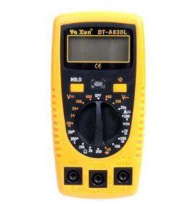 Мультиметр Ya Xun DT-A830L