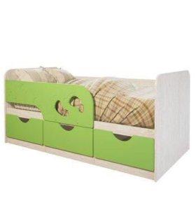 Детская кроватка «Минима-Лего лайм»
