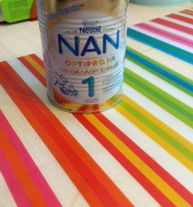 Смесь нан гипоаллергеннаый 1 с 0 до 6 мес
