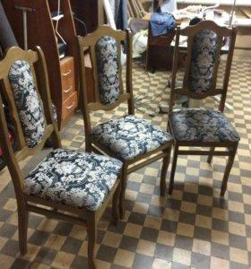 Перетяжка стульев.