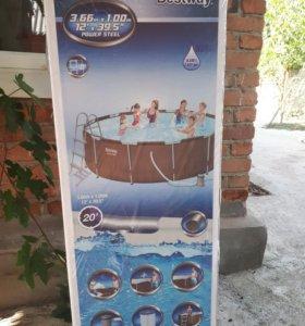 каркасный бассейн НОВЫЙ!