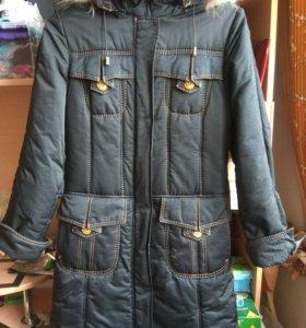 Зимнее женское пальто / куртка