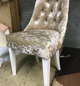 Мягкий стул в каретной стяжке