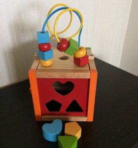 Развивающий куб.