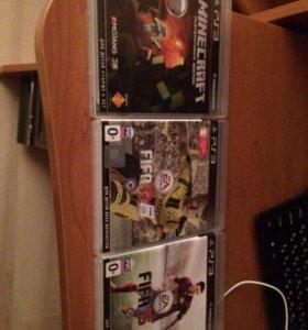 Ps 3 с 3 играми