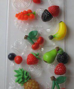 Форма для мыла фруктовое ассорти
