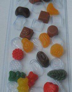 Форма для мыла Ассорти из конфет