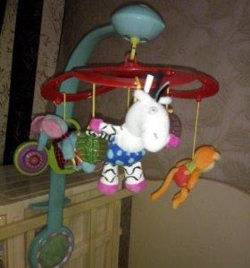 Мобиль на детскую кроватку Taf Toy