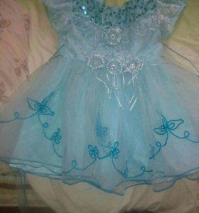Продам детскогое платье