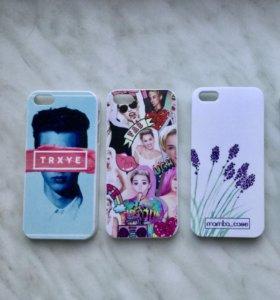 Чехлы для iPhone 5/ 5s/ SE. От 100₽