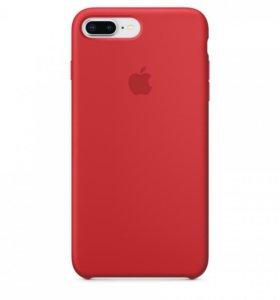 Чехол накладка для iPhone 7 Plus красная
