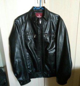 Куртка кожаная Новая! р. 46