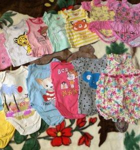 Детская одежда для девочки (0-3 мес)
