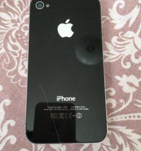 Apple четыре цвет чёрный