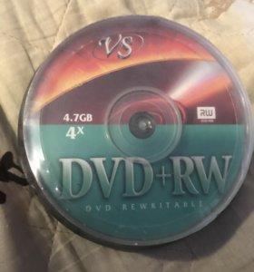 Диски DVD+RW