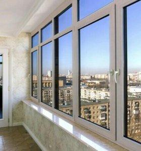 Металлопластиковые окна, двери,балконы,лоджии