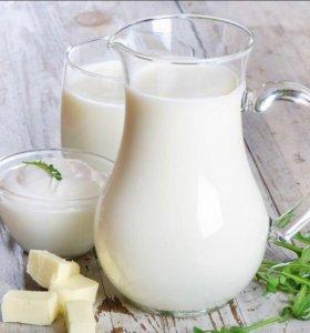 Молочные и мясные продукты