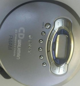 CD плеер Sony walkman D-FJ65