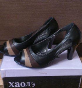Обувь новая эко кожа