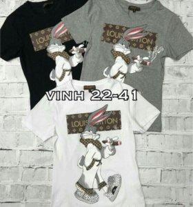 Новая футболка LV размер М