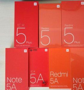 Redmi 5/5plus/5a/note 5a и др.+год гарантии