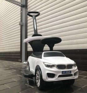 Толокар Машинка Каталка BMW X6 с музыкой