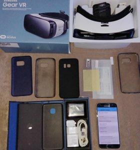 Galaxy S7 32gb + очки виртуальной реальности Gear