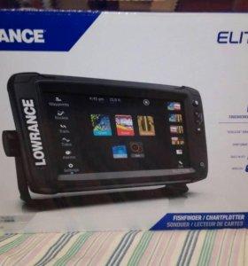 Эхолот-картплоттер Lowrance Elite-9Ti TotalScan
