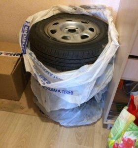 Колеса в сборе (шины+диски)