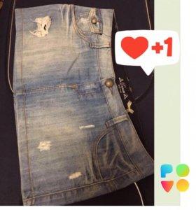 Юбка джинсовая страдивариус 46-48 размер