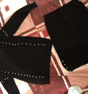 Комплект юбка свитер