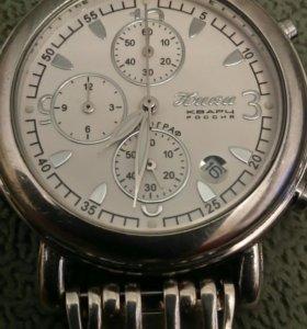 Часы Ника с браслетом. Серебряные