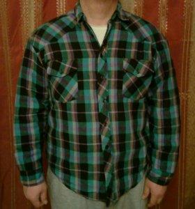 Толстовка-рубашка.