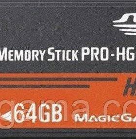 Карта памяти 64Gb для PSP + игры, новая