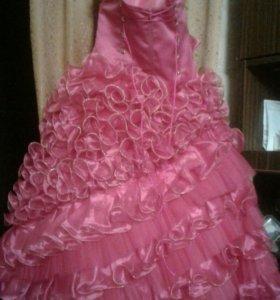 Детское бальное платье.