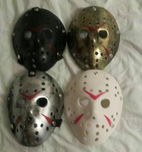 новая маска карнавальная маскарадная Джейсон