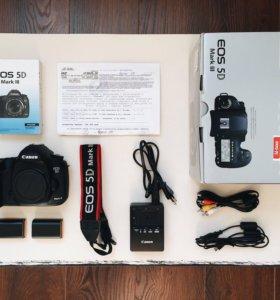 Canon 5D mark III + 2 аккумулятора + сумка