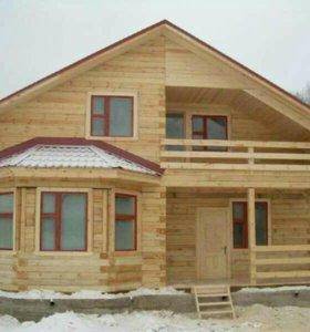 Строительство домов, беседок, бань