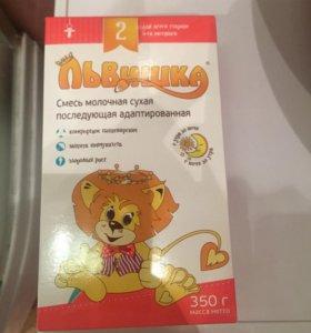 ЛЬВИШКА 2 молочная смесь