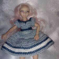 Авторская кукла, бжд, bjd, с гардеробом!
