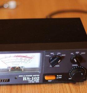 КСВ-метр для настройки радиостанций Nissei RS-102