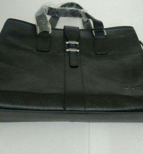 Великолепная сумка портфель мужской женский делово